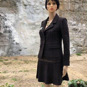 Authentic Chanel skirt suit
